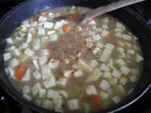 Vegan : Gemüse - Frikassee - Rezept