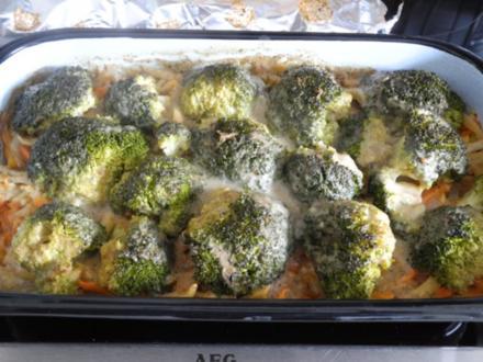Vegan : Brokkoli - Gemüse-Auflauf aus dem Backofen - Rezept