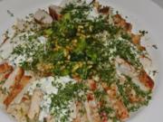 super leckerer Couscous Salat als Hauptgericht mit Hühnchen... - Rezept
