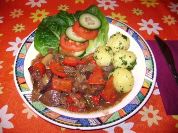 Leberragout mit Gemüse - Rezept - Bild Nr. 3