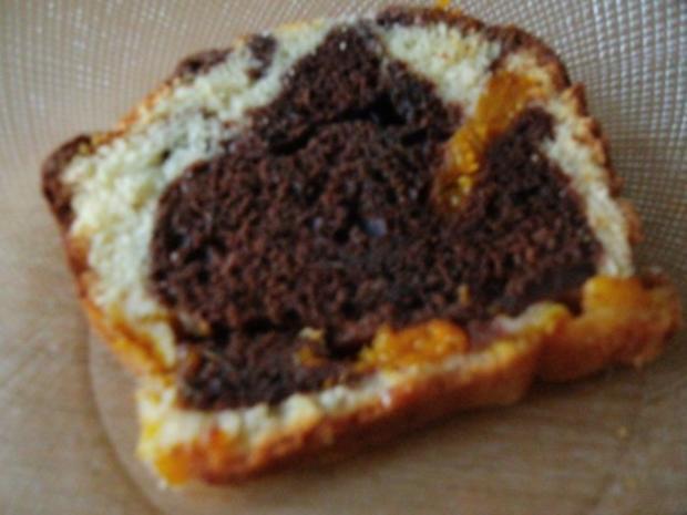 Marmorkuchen mit Mandarinen - Rezept