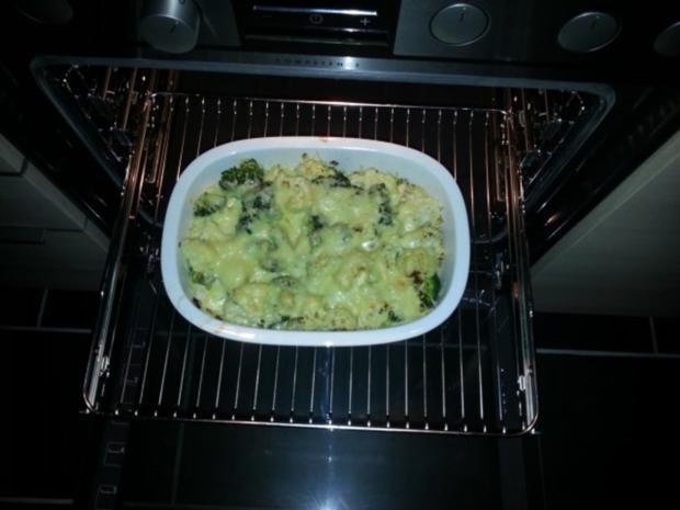 Broccoli-Blumenkohl-Auflauf - Rezept