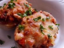 Ofengerichte: Überbackene Kartoffeln à la Bolognese - Rezept