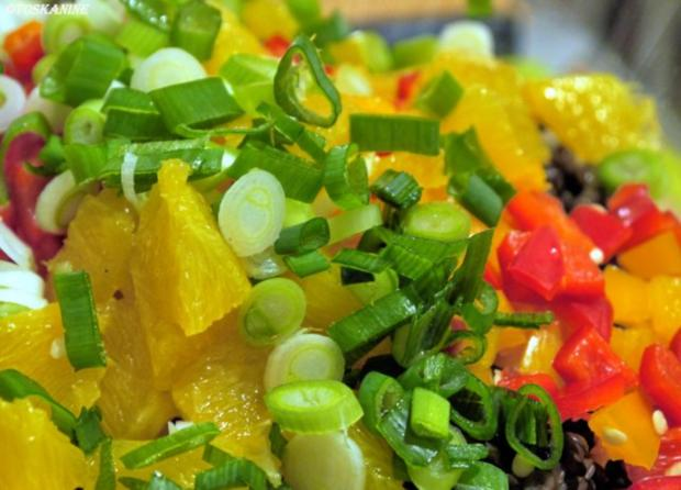 Winterlich-fruchtiger Linsensalat mit Fetapäckchen - Rezept - Bild Nr. 9