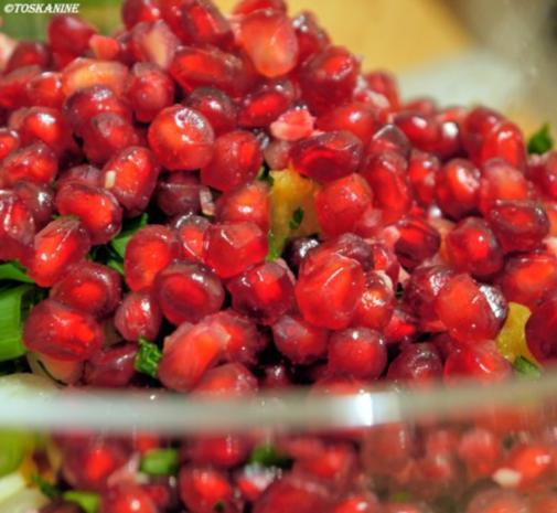 Winterlich-fruchtiger Linsensalat mit Fetapäckchen - Rezept - Bild Nr. 11