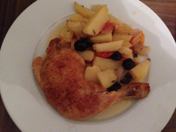 Ofen-Hühnchen Provence - Rezept - Bild Nr. 2
