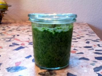 Spinat-Pesto - Rezept