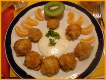 Gebackene Champignons - Rezept