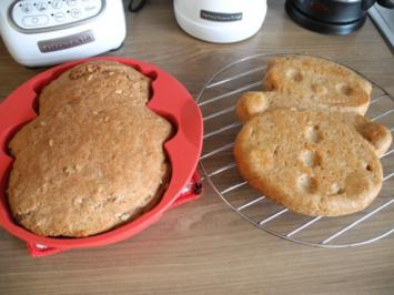 Brot & Brötchen : Dinkel - Mandel - Reislmehl - Brot - Rezept