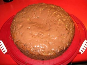 Aprikosen - Schoko - Kuchen - Rezept