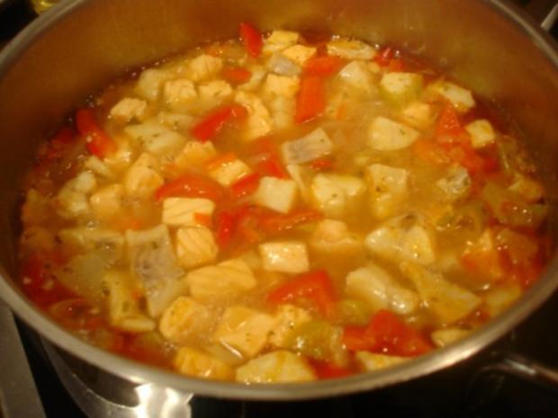 Fischsuppe à la Papa - Rezept - Bild Nr. 11