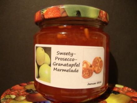 Orangen - Granatapfel - Aperol Marmelade - Rezept