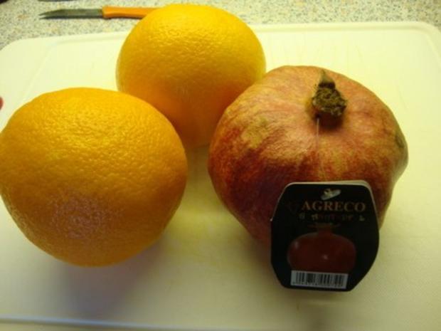 Orangen - Granatapfel - Aperol Marmelade - Rezept - Bild Nr. 2
