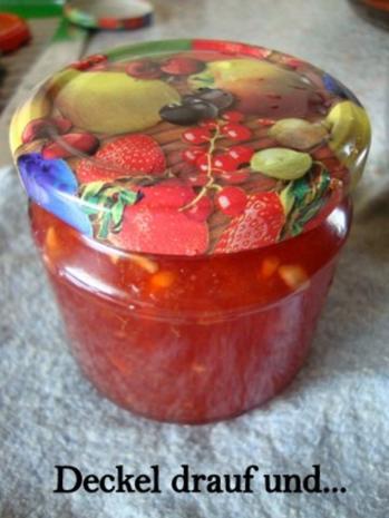 Orangen - Granatapfel - Aperol Marmelade - Rezept - Bild Nr. 9