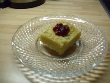 Süße Nudeln mit Preiselbeeren - Rezept