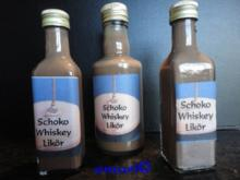 winterlicher Schokolade Whisky Likör - Rezept