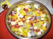 Dessert: Feiner Obstsalat - Rezept