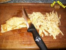 Suppeneinlagen: Pfannkuchenstreifen - Rezept