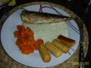 Fisch: frische Makrele in Dill-Rahm-Sauce..... - Rezept