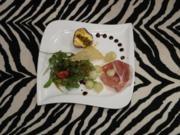 Melonen-Salat mit Rucola und Parmaschinken - Rezept