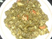Grünkohleintopf mit Mettenden - Rezept