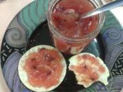 Orangen-Granatapfel-Brotaufstrich - Gelee - - Rezept