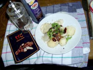 Topinambur Salat - Rezept