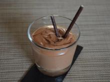 Minze Schokoladen Mousse - Rezept