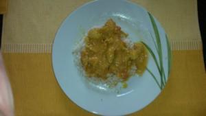 Mango Curry Chicken - Rezept