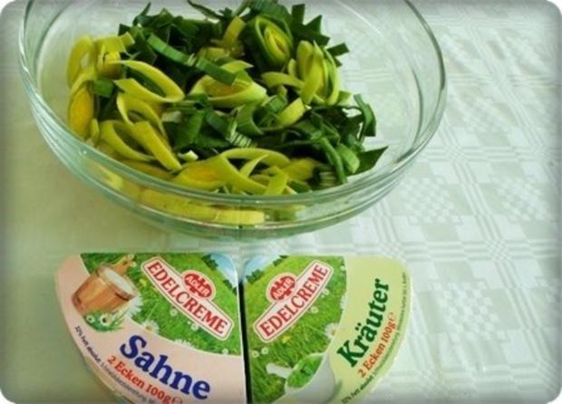 ※ Käse-Lauch-Hack Suppe mit Ricotta-Petersilie Klößchen ※ - Rezept - Bild Nr. 11