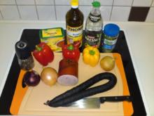 Wurstsalat, der Beste ! ! ! - Rezept