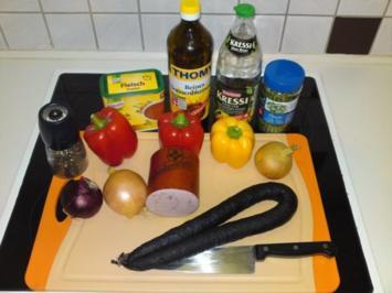Rezept: Wurstsalat, der Beste ! ! !