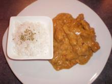 Putengeschnetzeltes mit Currybanane - Rezept