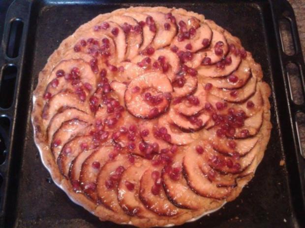 Apfel-Granatapfel-Tarte - Rezept - Bild Nr. 8