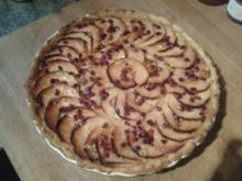 Apfel-Granatapfel-Tarte - Rezept