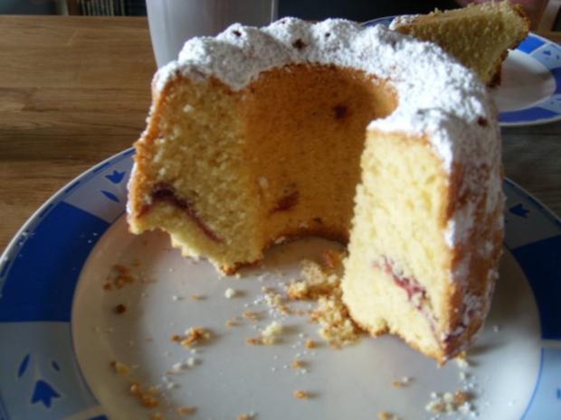 Kuchen torten mini gugelhupf mit preiselbeeren rezept for Minikuche mit spulmaschine