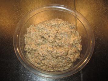 Pikanter Olivendip - Rezept