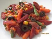 Spanische Reispfanne - Rezept