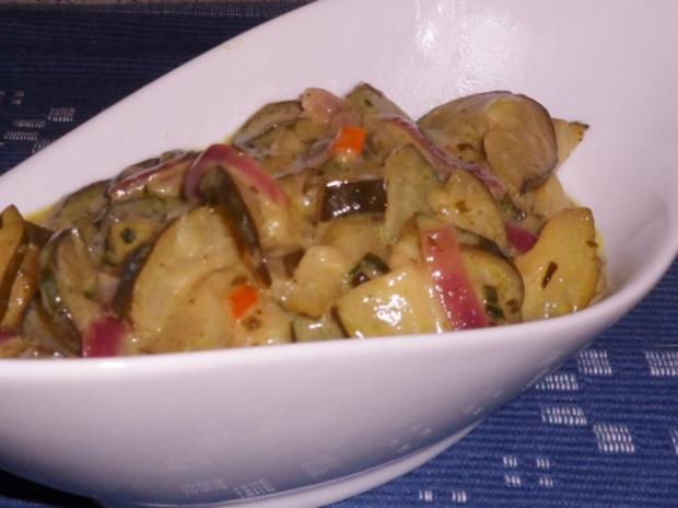 Beilagen: Süß-Saures Zucchini-Gurken-Gemüse - Rezept - Bild Nr. 8