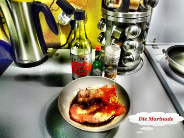 Geflügel: Pikantes Schnitzel mit Bratkartoffeln - Rezept - Bild Nr. 3