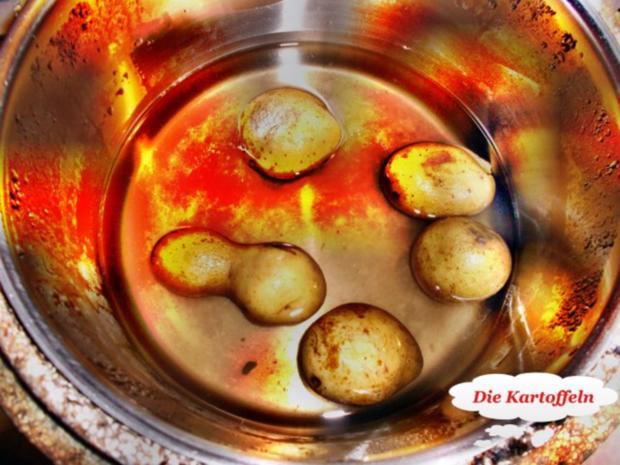 Geflügel: Pikantes Schnitzel mit Bratkartoffeln - Rezept - Bild Nr. 4