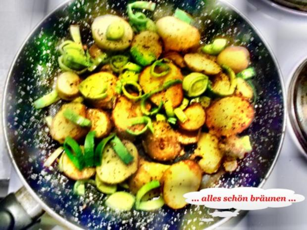 Geflügel: Pikantes Schnitzel mit Bratkartoffeln - Rezept - Bild Nr. 7