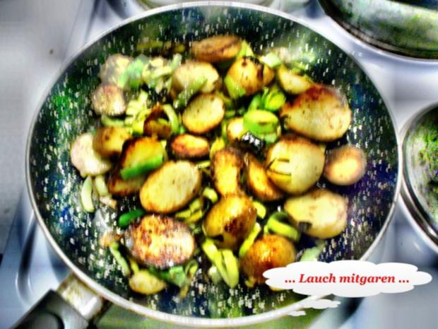 Geflügel: Pikantes Schnitzel mit Bratkartoffeln - Rezept - Bild Nr. 9