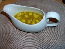 Apfel-Mango-Curry-Sauce - Rezept