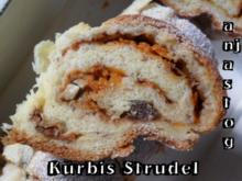 Kürbis Strudel - Rezept