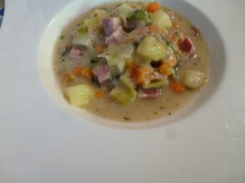 Sauerfleisch-Suppe - Rezept