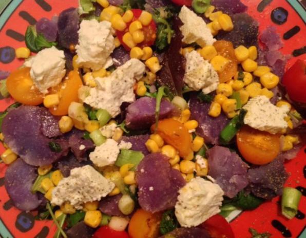Blauer Kartoffelsalat - Rezept - Bild Nr. 2