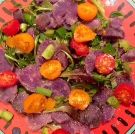 Blauer Kartoffelsalat - Rezept - Bild Nr. 3
