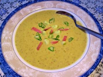 Dicke Bohnen - Cremesuppe - Rezept