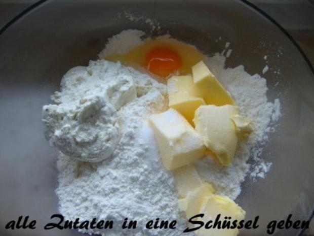 Basis Teig für Quiche Lorraine, Zwiebelkuchen oder andere Gemüsekuchen - Rezept - Bild Nr. 2